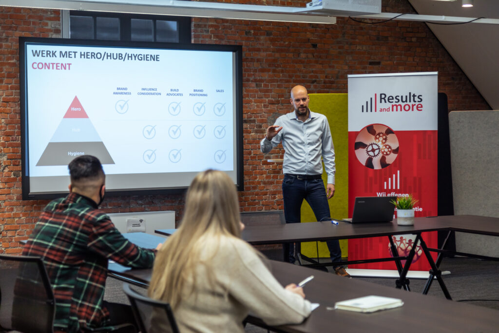 Results and More strategisch communicatiebedrijf